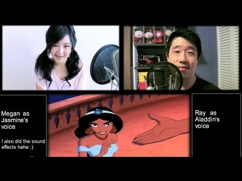 A Whole New World - Aladdin Cover by Megan Lee & Ray Lee