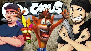Crash Bandicoot: N. Sane Trilogy - Caddicarus ft. SomecallmeJohnny