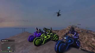 GTA V Live Stream - Phượt Siêu Moto Phát Sáng lên Đỉnh Núi Cao Nhất