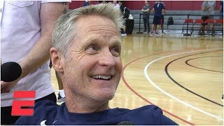 Steve Kerr excited for challenge of the upcoming Warriors' season | FIBA World Cup