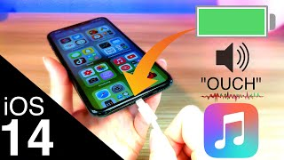 How To Change Charging Sound iOS 14 / Siri Speak When iPhone Connected / Custom iPhone Charger Sound