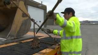 Tie Down - How ADOT&PF Operators Secure Heavy Equipment for Transport