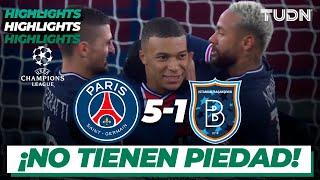 Highlights   PSG 5-1 Istanbul   Champions League 2020/21-J6   TUDN