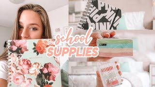 School Supplies Haul 2018! (i'm obsessed with stationery ok)