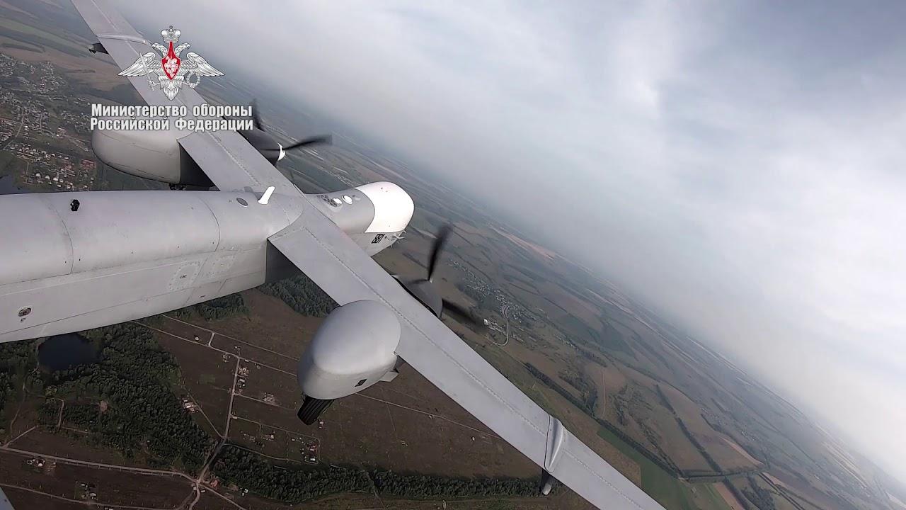 Ппервый полет новейшего БЛА «Альтиус-У»