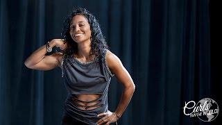 Chilli Shares Tips on Working Out with Natural Hair   Curls Run The World