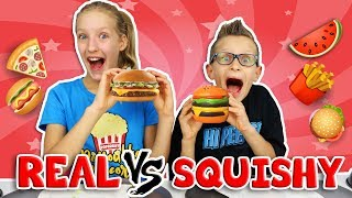 SQUISHY vs REAL 2!!!!