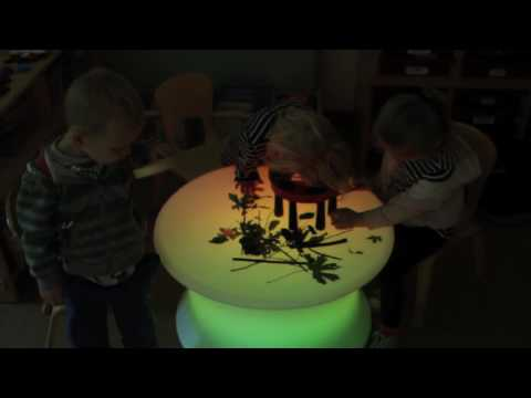 Sensory Colour Changing Mood Light Table**