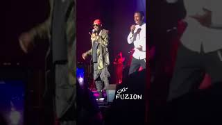 R. Kelly Makes a Surprise Appearance on Stage with Keith Sweat & Tank in Chicago