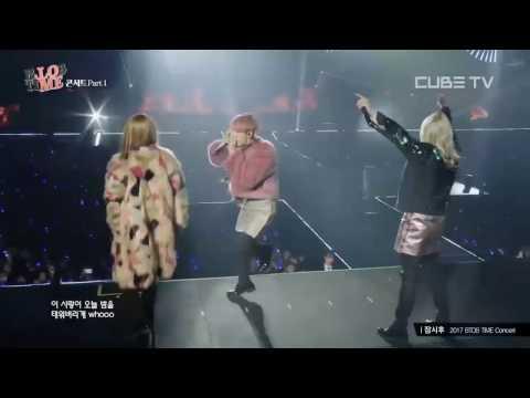 [2017 BTOB TIME] Playing with fire (불장난) - BTOB RAP LINE ft. CHANGSUB - CUBE TV