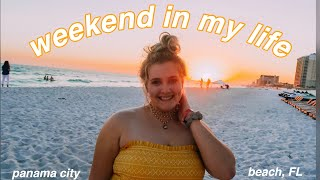 weekend in my life: panama city beach