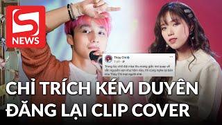 """Giữa lúc MV của Sơn Tùng """"bay màu"""", Thuỳ Chi bị chỉ trích """"kém duyên"""" khi đăng lại clip cover"""