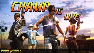 🔥M416 AND AKM DEADLY AR COMBO🔥| PUBG MOBILE HINDI LIVE STREAM INDIA | CHAMP IS LIVE ✅