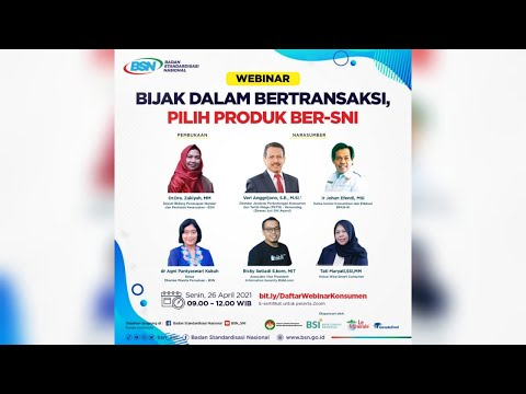 https://www.youtube.com/watch?v=VTa0xADIFwYBijak Dalam Bertransaksi, Pilih Produk Ber-SNI