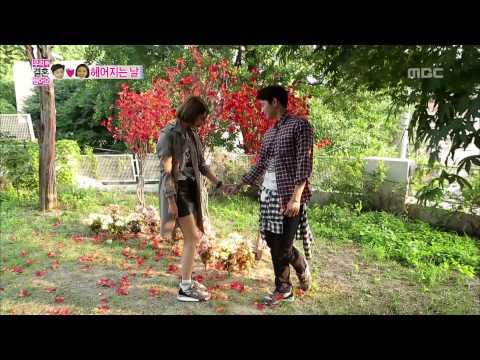 Romantic farewell, Jin-woon♥Jun-hee 정진운-고준희 #We Got Married
