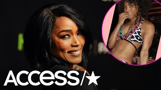 Angela Bassett Wows With Steamy Bikini Snap For Her 60th Birthday | Access