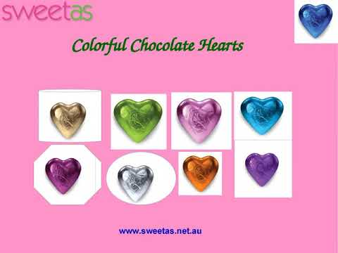Buy Chocolate Hearts Online by Sweet As