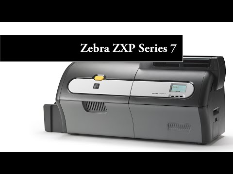 Zebra ZXP Series 7 Card Printer Preview