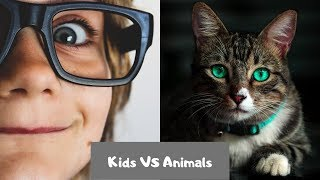 😍ADORABLE Kids VS Animals 😍 | Funny Animals