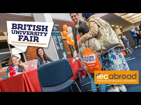 British University Fair April 2016 - Timelapse