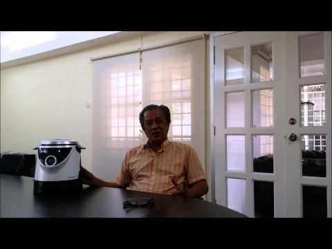 Mr James of Kuala Lumpur shares his experience on the Grayns Rice Cooker