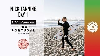 Mick Fanning Behind The Scenes, Day 1 | 2018 MEO Rip Curl Pro, Portugal