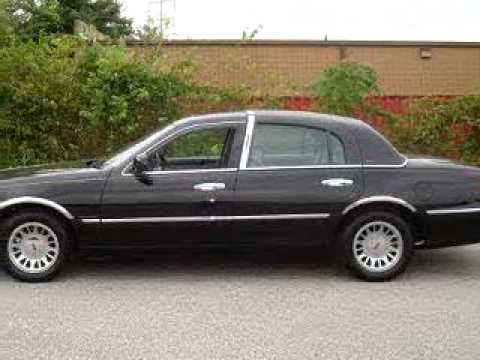 sold 2002 lincoln town car cartier 21222 norris ford of du youtube. Black Bedroom Furniture Sets. Home Design Ideas