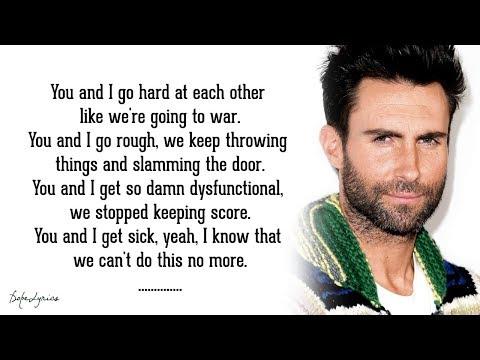 One More Night - Maroon 5 (Lyrics) 🎵