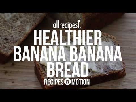 Bread Recipes - How to Make Healthier Banana Banana Bread