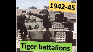 German Heavy Tank Battalions - origins, development and deployment (1942-1945)