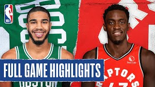 CELTICS at RAPTORS | FULL GAME HIGHLIGHTS | August 7, 2020