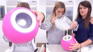 🍦 Making ICE CREAM in a BALL!