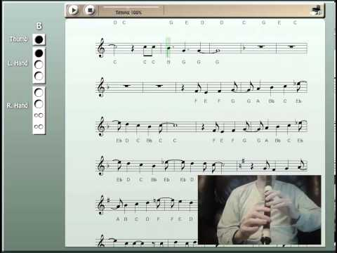 Let it Go on Recorder (from Frozen)