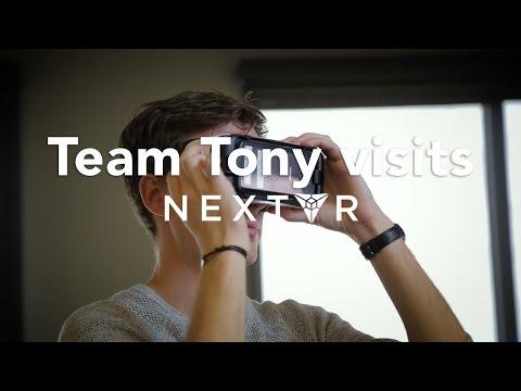 Team Tony Visits NextVR | Tony Robbins