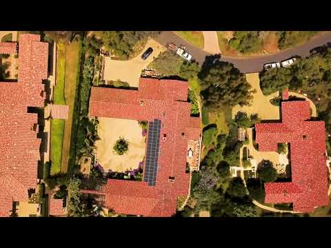 This aerial video captures the essence of the SunPower by Stellar Solar 2018 SunPower Intelegant Award winning installation