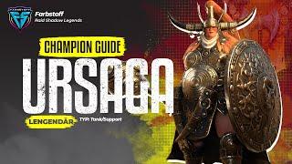 Raid: Shadow Legends - Champion Guide (kurz) - Ursaga Kriegsruf - Was ein Tank