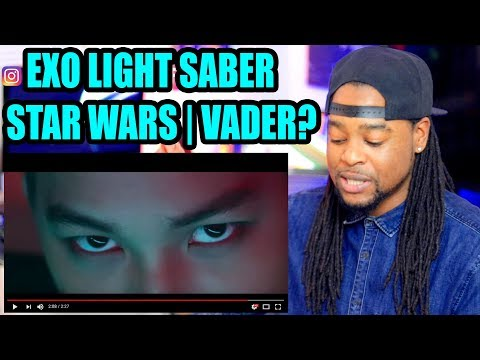 EXO 'LIGHTSABER' (EXO | STAR WARS Collaboration Project) | REACTION!!!