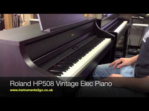 Yamaha Clavinova CLP575 vs Roland HP508 Digital Piano No Talking Just Playing