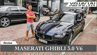 Tìm hiểu siêu xe nhập Ý giá chỉ hơn 3 tỷ - Maserati Ghibli 2016 động cơ 3.0 V6 |XEHAY.VN|