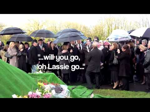 Liam Clancy Funeral - Graveside Reverie