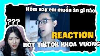 Reaction An Vy Bị Chiều Hư Quá Nên Không Thể Cưỡng Lại Được Khoa Vương   An Vy Vlog