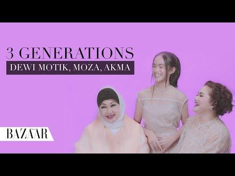 Tiga Generasi Membahas Area Kewanitaan: Dewi Motik Pramono, Moza Pramita, dan Akma Siregar