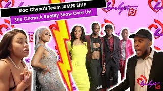 Blac Chyna's ENTIRE Team QUIT & BLAST HER All Over IG!!~ She Chose A Reality Show Over Us!! #ZEUS