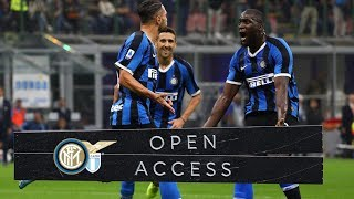 OPEN ACCESS | INTER 1-0 LAZIO | GIMME FIVE! 🖐📹⚫🔵