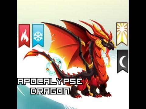 Dragon City - Apocalypse Dragon! (4 elements dragon) - YouTube