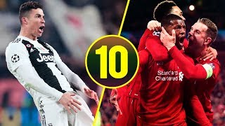 Top 10 Humiliating Defeats In Matches Of Big Football Clubs • 2018/19 Season