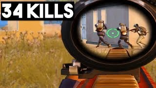 THIS IS WHY YOU MUST HAVE HEADPHONES! | 34 KILLS Duo vs SQUAD | PUBG Mobile