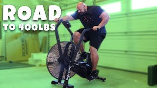 400+ POUND MAN DOES CARDIO? | WEIGHT LOSS JOURNEY ROAD TO 400 POUNDS