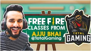 AJJU BHAI @Total Gaming gave me FREE FIRE classes !! FT. @Wajahat Hasan [ Ep. #1 ]