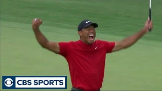 Tiger Woods wins the 2019 Masters   Golf   CBS Sports